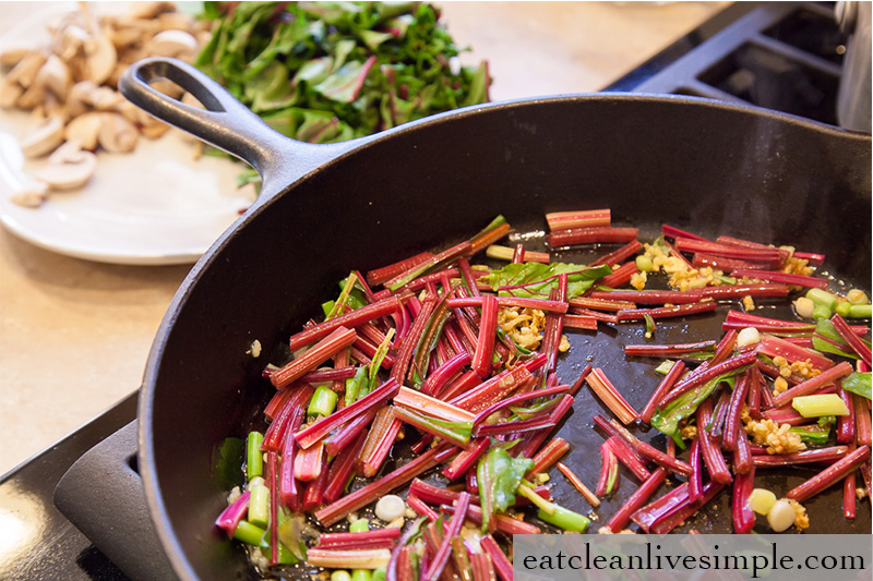 Roasted Beet & Veggie Quinoa www.eatcleanlivesimple.com