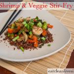 Shrimp & Veggie Stir-Fry - www.eatcleanlivesimple.com