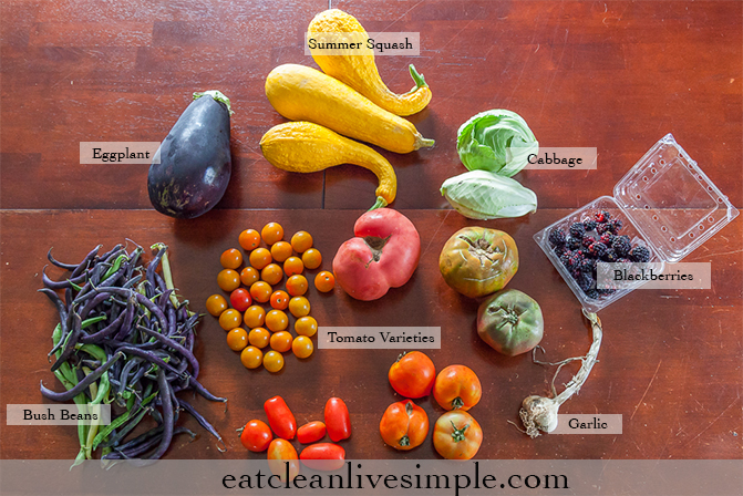 CSA Share Week Twelve - www.eatcleanlivesimple.com