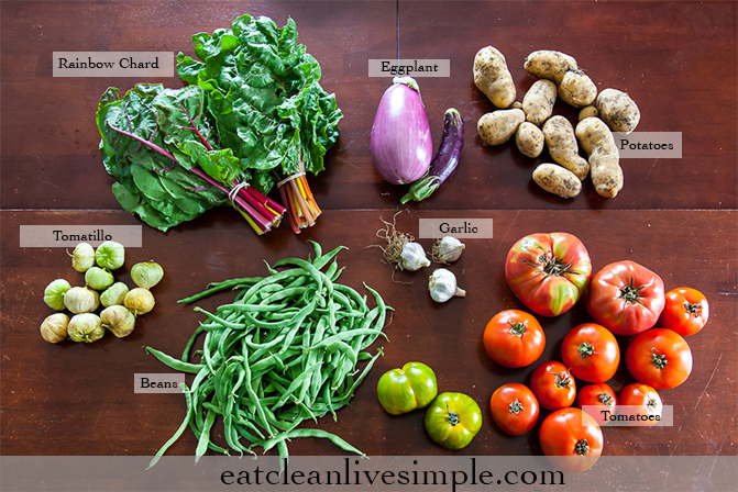 Week Fifteen CSA Share www.eatcleanlivesimple.com
