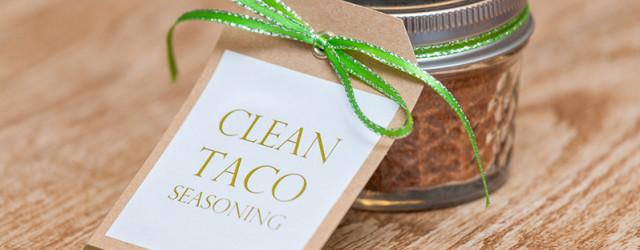 Easy Clean Taco Seasoning - www.eatcleanlivesimple.com