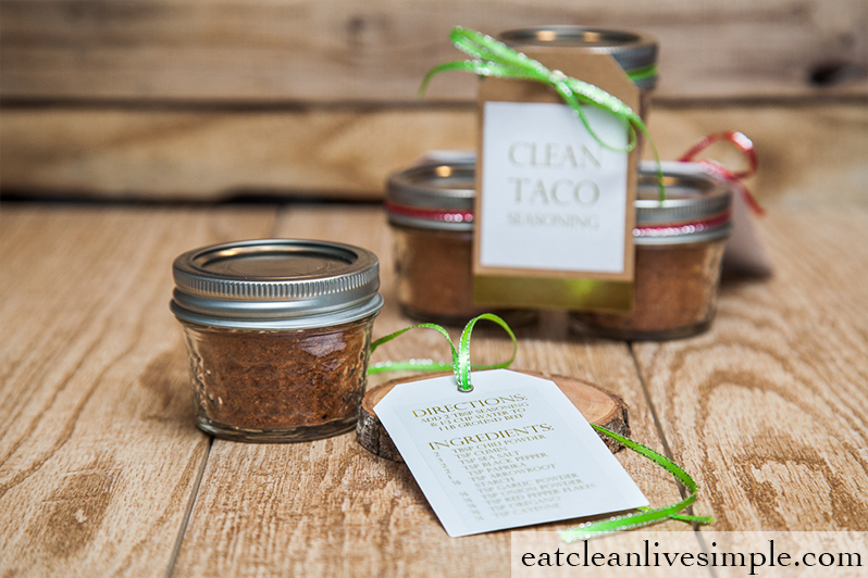 Easy Clean Taco Seasoning - www.eatcleanlivesimple.com
