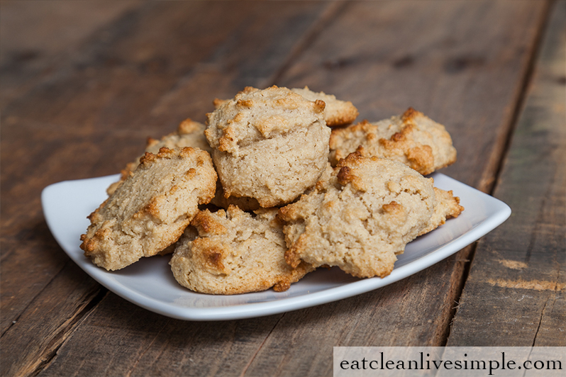 World's Easiest Paleo Cookies - www.eatcleanlivesimple.com