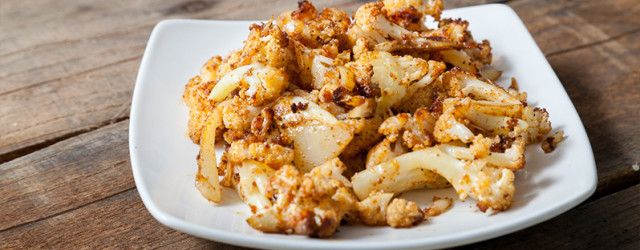 Old Bay Roasted Cauliflower - www.eatcleanlivesimple.com